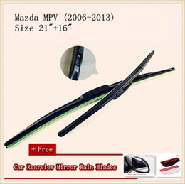 High Quality U-type Universal Car Windshield Wiper With Soft Natural Rubber For Mazda MPV Mazda 626 Mazda 8 Mazda 6 Mazda Demio CX-9 CX-5
