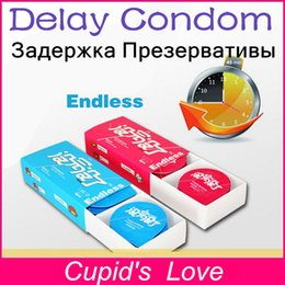 Wholesale Delay Condoms More Mins Sex Love Delay Cream Factor Long lasting Latex Condoms Sex Toy For Male Condoms