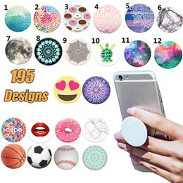 Wholesale Popsocket pop socket poches de bureau support de téléphone portable Support d extension multifonction Support de téléphone portable flexible Support pour téléphones cellulaires