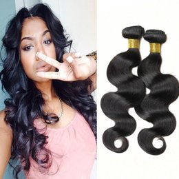 Wholesale bella hair Unprocessed Peruvian wave dyed natural color hair bundles best quality cheap human hair weave Body wave
