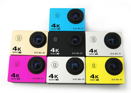 Wholesale Notavek96660 Sony179 m Waterproof Action Camera K Video Camera Sport DV Car dvr LCD Outdoor MP FPS Diving
