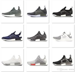 Wholesale With Box Fashion Sneakers NMD Runner Primeknit Men and Women Running Shoes XR1 PK Sports Shoes US7