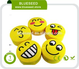 Wholesale HY BT25 Emoji Wireless Bluetooth Speaker Stereo Super Bass HIFI TF Card Support For Phone Pad PC