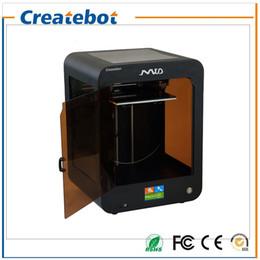High-precision Createbot Mid 3D imprimante kit complet Extrudeuse double Assemblé Imprimante à écran tactile en 3D 1 Roll Filament 8 Go Carte SD à partir de double filament fabricateur