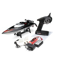 Wholesale Hot Sale FT012 G Brushless Upgraded FT009 RC Racing Boat RTR Speedboat Black Colot F15278