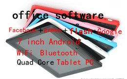 Quad Core 7 inch gooTablet PC with fachbook flash gams Andriod 1.5Ghz