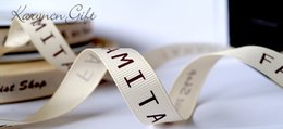 Wholesale 3 mm grosgrain ribbon Personalized Favors Printed Ribbon for Party Wedding Baby Shower Favor yards