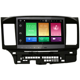 Wholesale 10 quot Ucta Core Android System Car DVD GPS For Mitsubishi Lancer Radio RDS G RAM G ROM WIFI G Netwrok Full RCA Output K Video OBD