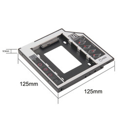 Wholesale Newest Store mm for Laptop CD DVD ROM ODD Universal SATA nd HDD SSD Hard Drive Caddy Optical Bay Hot Sale