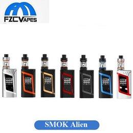 Wholesale Authentic SMOK Alien W Kit E Cigarette Advanced Vaper Starter Kit Watt TC E Cig Kit Dual