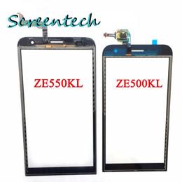 100% Original New Touch Screen With Digitizer For ASUS Zenfone2 ZE551ML ZE551ML ZE550KL ZE500KL Glass Panel Black Replacement Parts