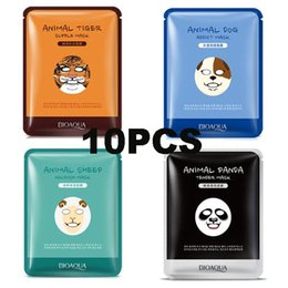 Wholesale Animal Face Mask South Korea Facial Mask Moisturizing Whitening Oil Control Face Care g Animals Types