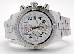 Wholesale De lujo de calidad superior Avenger Super Avenger blanco número árabe Pro II pulsera de acero inoxidable hombres Relojes de pulsera de cuarzo Mens Watch