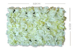 Wholesale JR0108 Hot Sale Cheap Christams Festive Party Wedding Stage Artificial Befutiful Silk Flower Wall Backdrop Decorative Flower