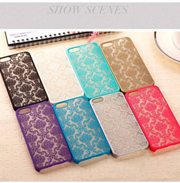 100 pcs Fashion Sexy Lace Floral Paisley Flower Mandala Henna Clear Case For Samsung S7 NOTE 5 Phone Cases Back Cover