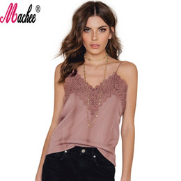 Woman Camisole Tops Summer Black Tank Tops Spaghetti Strap Sexy Crop Top For Ladies Lace V-neck Backless Slim Hollow Out Woman Tanks