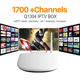 Wholesale Europe Arabic IPTV Apk Server Sky Program Canal Sport Channels Free Q1304 Iptv Box Arabic Smart Tv Box Quad Core Android