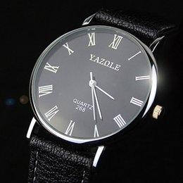 Descuento mujer del estilo de reloj resistente al agua YAZOLE 2017 Hombre Mujer Estudiante Reloj de Pulsera Marca Famoso Moda Reloj Casual Amantes Impermeable Simple Relojes de Cuarzo Estilo