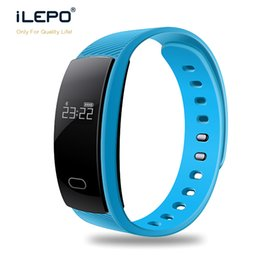 apple iphone smart watches Promotion Smart Bracelet Bluetooth Smart Wristbands montre intelligente Waterproof Passometer Sleep Tracker Fonction pour iphone Samsunios Android IOS