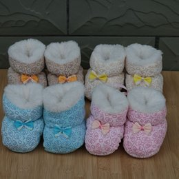 Wholesale shoes baby Necessary winter to keep warm Relaxed and clean simple cute baby baby shoes toddlers pieces pairs