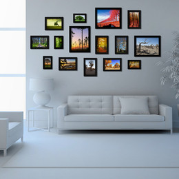 Wholesale SM B photo frames Brand new living room wall gallary picture frames