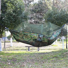 Outdoor parachute fabric hammock Tents and Shelters Hammocks