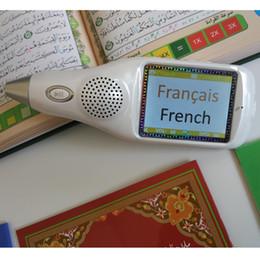 Wholesale G LCD Quran Reading Pen QM9200 digital quran pen English Urdu French German Farsi Dari islamic products translator Read pen