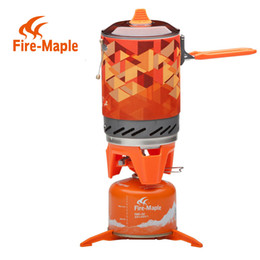 Wholesale Fire Maple Personal Cooking System Outdoor Backpacking Hiking Camping Oven Portable Best Propane Gas Stove Burner FMS X2