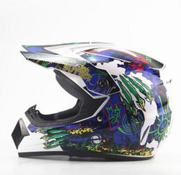 Cascos de carreras de la vendimia en Línea-Venta al por mayor Motocicletas de motocicleta de la motocicleta del vintage de la motocicleta de la venta al por mayor del motocrós Casco de la bici de la suciedad de ATV de la motocicleta del casco de la motocicleta MTB DH que compite con casco de la cruz
