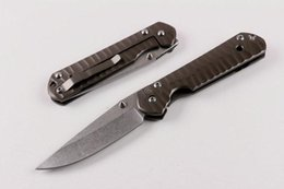CHRIS REEVE Classica Sebenza 21 wave pattern Folding Knives 440C 58HRC Blade STEEL Handle With White Box free shipping