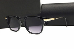 Descuento gafas de diseño fresco Moda Hombre Cool Gafas De Sol Mujer De Lujo De Marca Diseñador Celebrity Sun Gafas De Conducción Masculina Superstar Hembra Sombras Cinco lunas lunettes