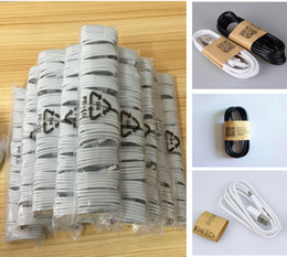 Wholesale New For USB Cable Data line Light Cords Adapter Charger Wire Charger Wire for Android Phone and For I phone M FT Wrd