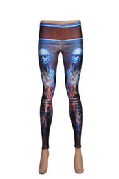 Women Fashion pants seamless 3D painting printed Sport Fitness leggings tattoo pantyhose feet pants leggings Limited time for sale 57