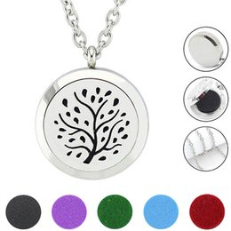 Free with Chain as Gift! Hot Sale Silver Perfume Locket Magnetic 316L Stainless Steel Diffuser Necklace