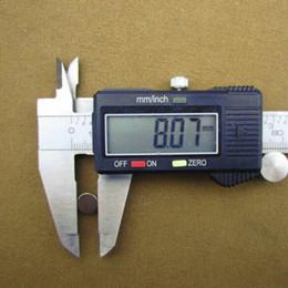 Wholesale Price 8*1.5 Strong Round Dia. 8mm x 1.5mm N50 Rare Earth Neodymium Magnet Art Craft Fridge Neodimio Imanes