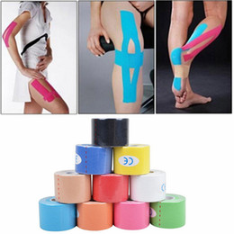 Wholesale 5cm x m Athletic Tape Bulk Sports Stretch Power PreWrap Self Adherent Wrap Flex Tape Self Adhering Stick Bandage Self Grip Roll
