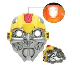 Bumblebee mask led toy halloween masquerade festival holiday