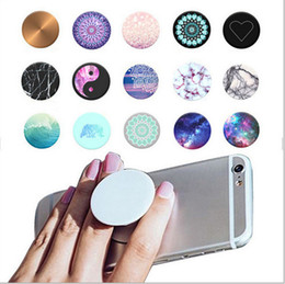 Wholesale Universal PopSockets Expanding Stand and Grip Flexible phone holder pop Socket M Glue for iphone s plus note Tablets Google pixel best