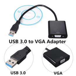 2016 convertisseurs vidéo Lamchin Loly USB 3.0 à VGA Multi Display Video Converter Adaptateur Câble externe pour ordinateur portable PC Windows 7 8 convertisseurs vidéo autorisation