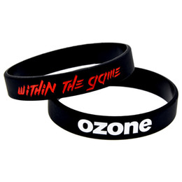 100PCS Lot Ozone within the game Silicone Wristband Carry This Message As A Reminder in Daily Lif By Wear This Bracelet