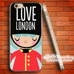 Coque British Royal Guard Soft Clear TPU Case for iPhone 6 6S 7 Plus 5S SE 5 5C 4S 4 Case Silicone Cover.