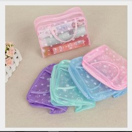 Wholesale MB Waterproof Flower PVC Cosmetic Makeup Storage Traveling Bath Bag for cheap price