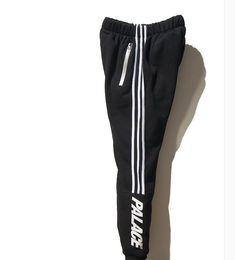 Wholesale Palace Skateboards Sport Pants Hip Hop Union Kanye M Reflective JOGGER High Quality Fashion Triangle Palacio Autumn Sweatpants