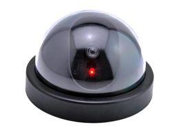 Fake Dummy Dome Surveillance CCTV Security Camera with Flashing Light AB-BX-13