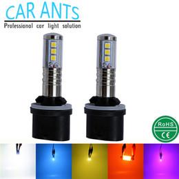Car Ants LED OSRAM 30W 1400LM Fog light 880 H-series 12V 24V auto parts super bright OEM ODM lighting bulbs car lamp Nonpolarity plug-n-play