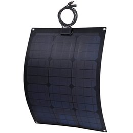 Wholesale 30Watt Semi Flexible Solar Panel with ETFE and aluminium sheet