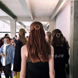 Exagération cos contrainte de grand vent rétablissant les anciennes manières rond tête clip épingle à cheveux pigeon queue de cheval à partir de pinces à cheveux ronds fournisseurs