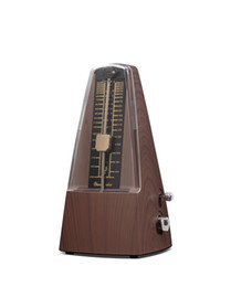 Wholesale Plastic Pyramid Music Mechanical Metronome mahogany oak wood color Music Metronomes Piano Violin Guitar Music Instrument