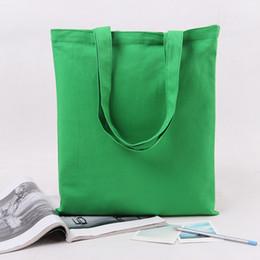 Venta al por mayor YILE 2-correa de lino de algodón de color sólido bolsas de compras que lleva el cierre abierto D115 del bolso NUEVO wholesale carry tote bag for sale desde la bolsa de asas de transporte al por mayor proveedores