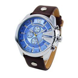 Mujer del estilo de reloj resistente al agua en Línea-Curren 8176 reloj de estilo retro reloj de cuero de lujo de cuarzo impermeable reloj de las mujeres de los hombres reloj #MC